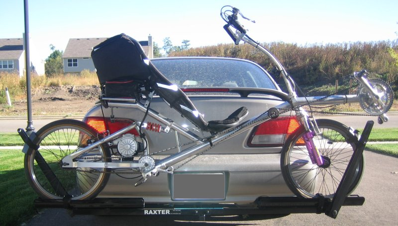 Hitch Bike Rack Reviews >> The Recumbent Bicycle and Human Powered Vehicle Information Center